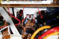Getauschte Transistoren