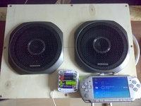 Mobiler lautsprecher für PSP