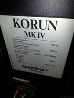 Quadral Korun MK4