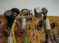 Hitachi HMA-8300 Power Amplifier - metal case diode with broken wire