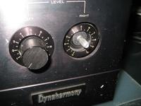 HMA-8300 broken skale at right input level attenuator