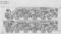 Luxman L-410 Power Amp Section PCB Layout