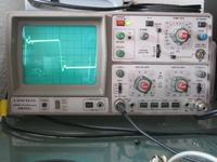 Reparatur des Hitachi HMA-8300 - Rechter Kanal überschwingen.