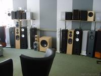 Akustik Art Kiel -Hifi-H�rraum Gesamtansicht Vorf�hrboxen