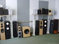 Akustik Art, Lautsprecher im Hörraum, Ausschnitt III, Mitte