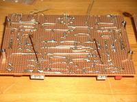Symasym auf Lochrasterplatine - fast fertig