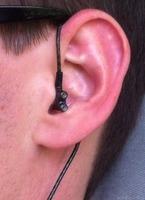 IE800 Kabel übers Ohr