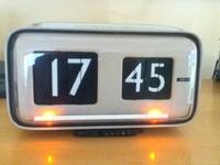 flip clock solaris cifra 5 gino valle