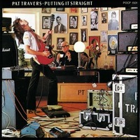 Pat Travers - Putting It Straight - Front