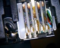 Dual Tonarm Kontaktplatte