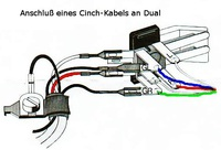 Dual auf RCA/Cinch-Kabel