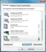 BenQ treVolo als Windows Wiedergabegerät
