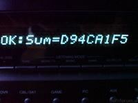 TX-SR608 Firmware Update Endemeldung