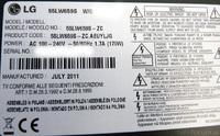 LG 55LW659S Sticker