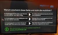 Fehlermeldung Samsung H-Serie EU-Gerät nach Erstinstallation