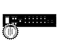 Entwurf für die Front- und Heckplatte für das Gehäuse!