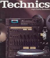Technics High Fidelity Bausteine 1978