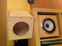Mivoc DIY Bass aktiv Cube XAW210