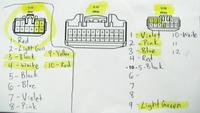 Anschlussplan Pinbelegung JBL Soundsystem Toyota Prius 3 Verstärker