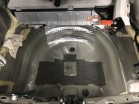 Toyota Prius 3 Kofferraum Reserveradmulde gedämmt Silent Coat