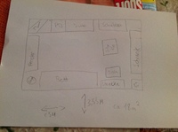 skizze Zimmer