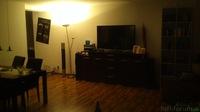 Wohnzimmer von der Couch
