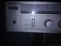Hitachi SR-2000 AM-FM Reciever -1-