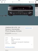 Rx-v781 vor Release auf eBay zu haben???