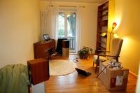 Wohnzimmer im Chaos