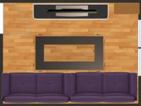 Wohnzimmer 2D