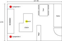 Wohnzimmer ca 20-25qm