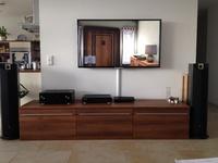 Wohnzimmer mit Focal 816V