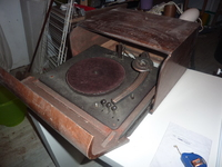 Philips Kofferplattenspieler