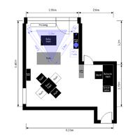 Mein Wohnzimmer (Grundriss)