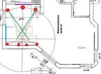 Lautsprecher-Konfiguration-Entwurf