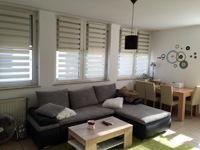 Der Fernseher Wohnwand Ist Frontal Zur Couch Abstand Betrgt In Etwa 5 Meter