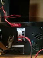 Stecker an Samsung Stereoanlage
