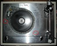 Thorens TD166 ohne Plattenteller