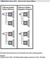 2 LS Parallel halber Widerstand