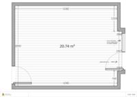 Wohnzimmer Höhe 2,40 m