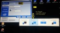 Notebook Bild auf TV über DP-HDMI Adapter