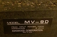 kenwood mv