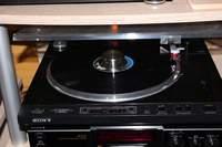 LP Jacksons - Victory auf Sony PS-X555ES mit Denon DL110
