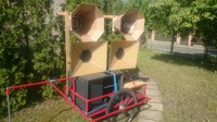 Mobile Horn Soundsystem