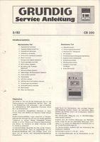GRUNDIG-CB-220-Service-Anleitung-Diagrams
