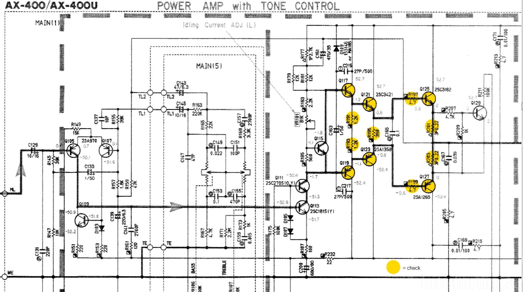 Yamaha Amp Schematic Not Lossing Wiring Diagram This Picture Is A Preview Of P2200 Powerampstage Sch Ax 400 Detail Left Power Marked Ax400 Rh Hifi Forum De Yfz450 Service Manual